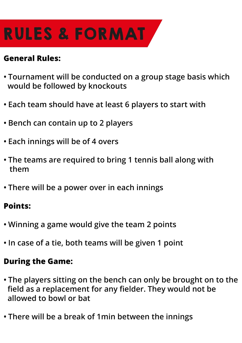 rules and regulations of cricket game | Gameswalls org